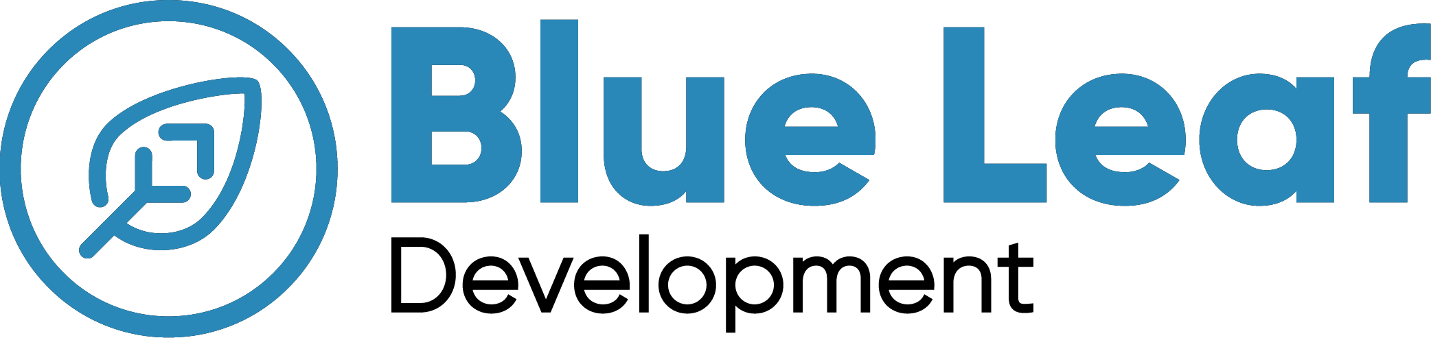 Blue Leaf - Logo 2019